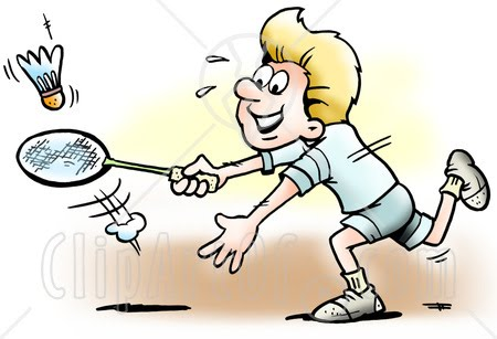 Gallery For > Badminton Clipart